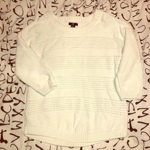 Adorable textured sweater!
